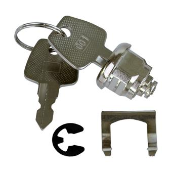 Náhradní zámek pro pokladní zásuvku mikro EK-300x, 2 klíče, 3 polohy