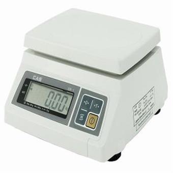 Váha CAS SW10, dvourozsahová, 4kg/10kg, 2g/5g