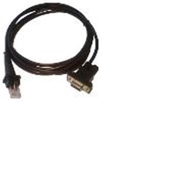 Kabel RS232 pro CCD čtečky 1000/1500,DC jack,černý