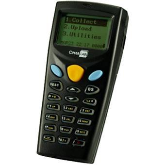 Cipher 8001L př. datový terminál,laser,1MB+2MB
