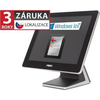 """AerPOS PP-9635BV, 15"""" LCD LED, 350 cd/m2, J1900 2,42GHz, 4GB RAM, 120GB SSD, Win10 IoT, bez rámečku"""