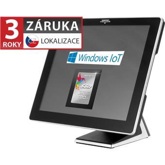 """AerPOS PP-9617, 17"""" LCD LED, 350 cd/m2, i3-2120 3,3GHz, 4GB RAM, 120GB SSD, Win10 IoT, bez ramečku"""