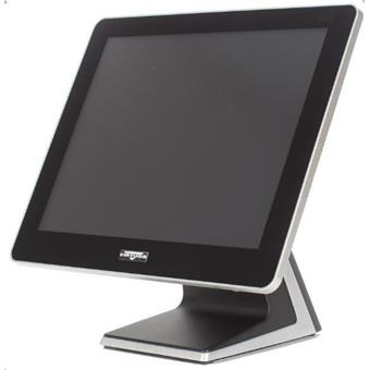 "AerPOS PP-9635BV, 15"" LCD LED, 350 cd/m2, J1900 2,42GHz, 4GB RAM, bez rámečku, černý"