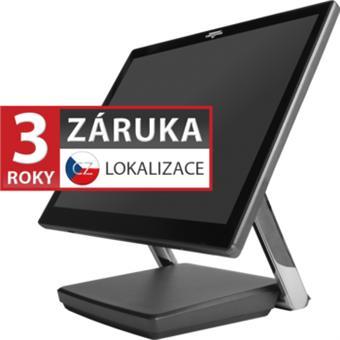 "XPOS XP-3685, 15"" 4:3 LCD LED, 400 cd/m2, i3-7100U, 4GB RAM, 120GB M.2 SSD, kapacitní, šedá"