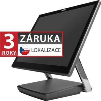 "XPOS XP-3682W, 22"" 16:9 LCD LED, 250 cd/m2, i3-7100U, 4GB RAM, 120GB M.2 SSD, kapacitní, šedá"