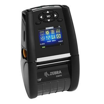 "Zebra ZQ610 2"" Mobile Printer, USB, Bluetooth Dual"
