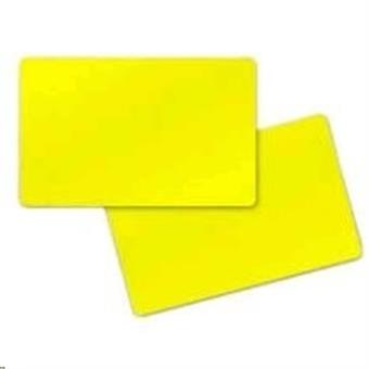 Premier (PVC) Yelow Cards,Card, 30 mil,500ks