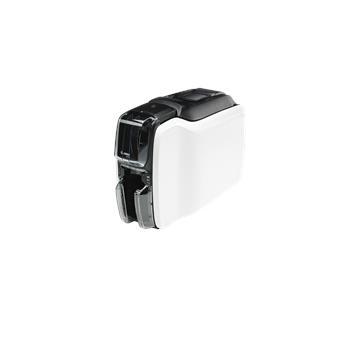 Zebra - tiskárna karet - ZC100, Single Sided, USB & LAN, ISO HiCo/LoCo Mag S/W Selectable