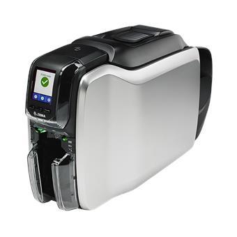 Zebra - tiskárna karet - Printer ZC300, Single Sided, USB & LAN, ISO HiCo/LoCo Mag S/W Selectable