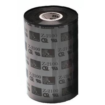 Zebra páska 2100 Wax. šířka 110mm. délka 450m