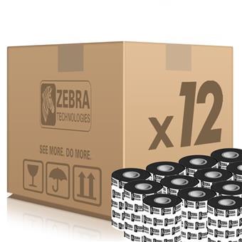 Zebra TT páska Resin šířka 83mm, délka 300m