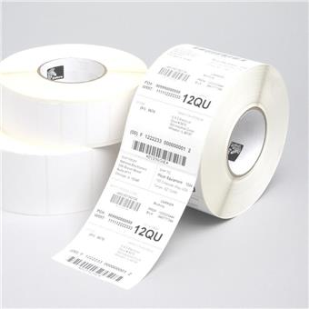 Z-Select 1000T, Midrange, 76x38mm; 3,634 labels for roll, 6 rolls in box.