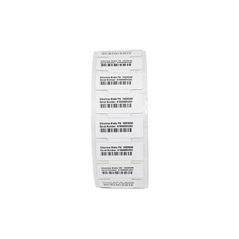 Label RFID 110x13mm; Printable White PET,High Perf. Acrylic Adhesive,869MHz, 1000/roll