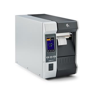 ZEBRA printer ZT610 - 203dpi, BT, LAN, Rewind, colour touch display