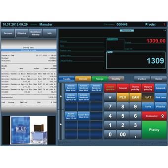 Pokladní SW CiglerSoftware Prodejna SQL mini pro EET