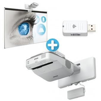 3LCD EPSON EB-680Wi WXGA 3200 Ansi 14000:1 + Tabule Santal + Wifi ELPAP10