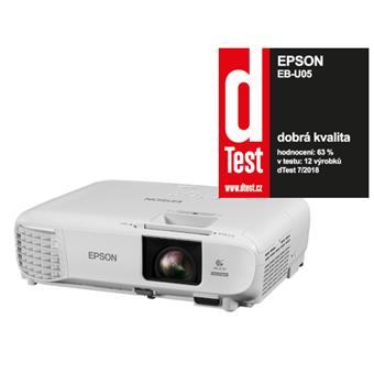 3LCD EPSON EB-U05 WUXGA 3400 Ansi 15000:1