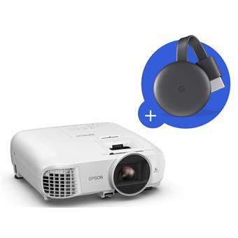 3LCD Epson EH-TW5600,FullHD, 2500 Ansi 35000:1 + Chromecast 3