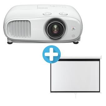 3LCD EPSON EH-TW7000 3000 Ansi 40000:1 Full HD + plátno Aveli 200 x 125