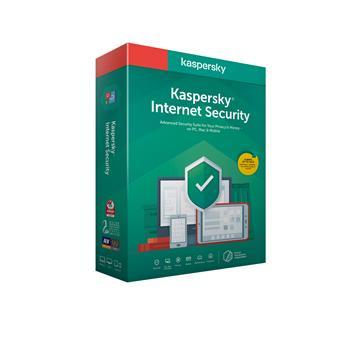 Kaspersky Internet Security 1x 1 rok Nová 2020 BOX