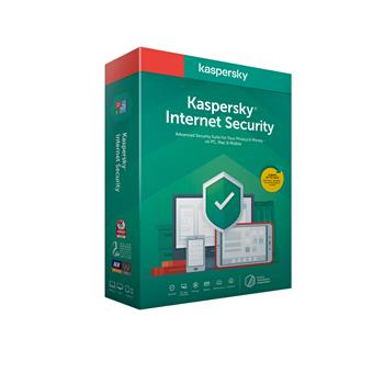 Kaspersky Internet Security 3x 1 rok Nová 2020 BOX