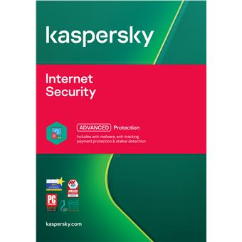 Kaspersky Internet Security 3x 1 rok Obnova