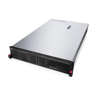 ThinkServer RD450 Rack/E5-2620/1x8GB/DVD/750W Platinum