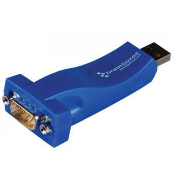 Brainboxes USB to Serial 1 Port RS232