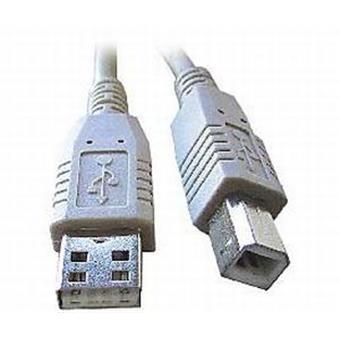 USB kabel typu AB, délka 2m HQ Black