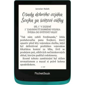 E-book POCKETBOOK 627 Touch Lux 4, Emerald