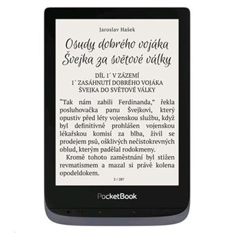 E-book POCKETBOOK 632 Touch HD 3, 16GB,  Metallic Grey