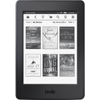 Amazon Kindle Paperwhite 3 2015, bez reklam, černá