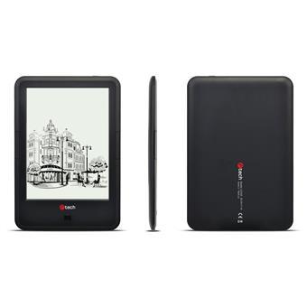 C-TECH E-book Lexis 8GB, HD, Android 4.2, černá