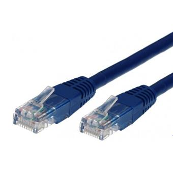 TB Touch Patch kabel, UTP, RJ45, cat5e, 1m, modrý