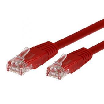 TB Touch Patch kabel, UTP, RJ45, cat5e, 5m, červený