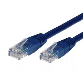 TB Touch Patch kabel, UTP, RJ45, cat6a, 1m, modrý