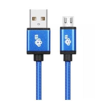 TB Touch USB - micro USB kabel, 2m, modrý