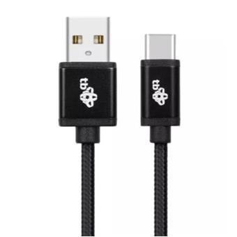 TB Touch USB - USB-C kabel, 2m, černý